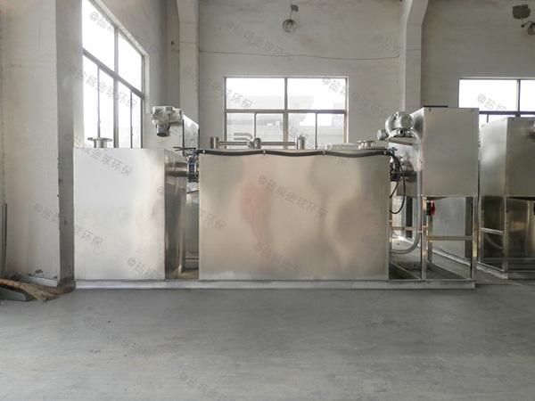 饮食业地埋移动式下水道油水分离器厂家价格