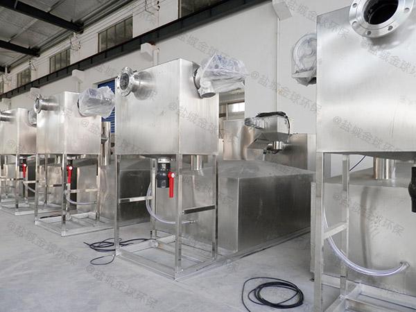 小饭店中小型地下式智能型一体式油水分离器需要泵吗