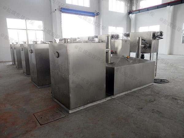 商场大型地面式机械水油分离处理设备工程