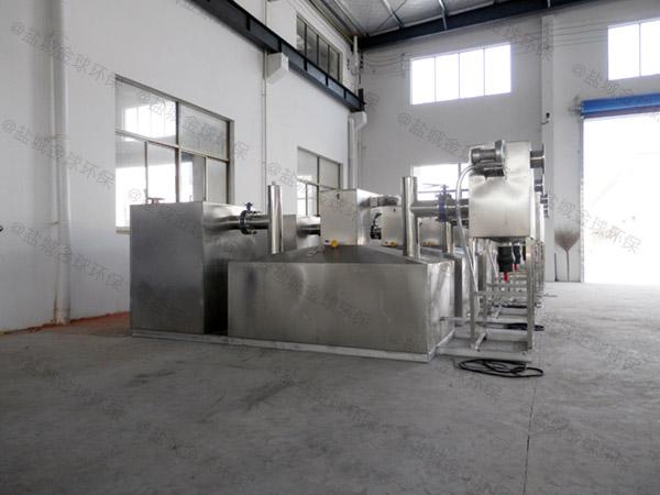 工厂食堂地埋自动隔油成套设备计算