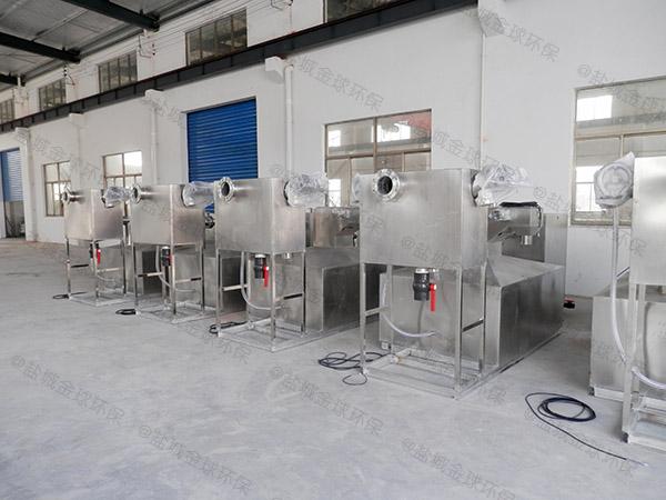 饮食业地下式大型分体式不锈钢隔油设备图集