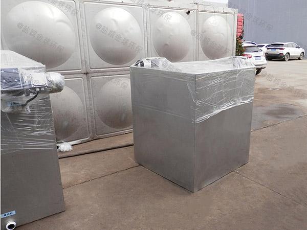 商场餐饮地埋式大型自动排水气浮式油水分离机厂家报价
