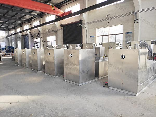 单位食堂大地下式全能型下水道油水分离器生产