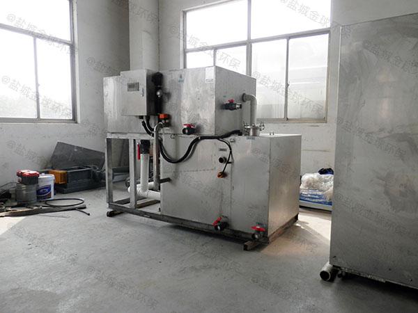 工地食堂中小型埋地分体式隔油器提升设备种类