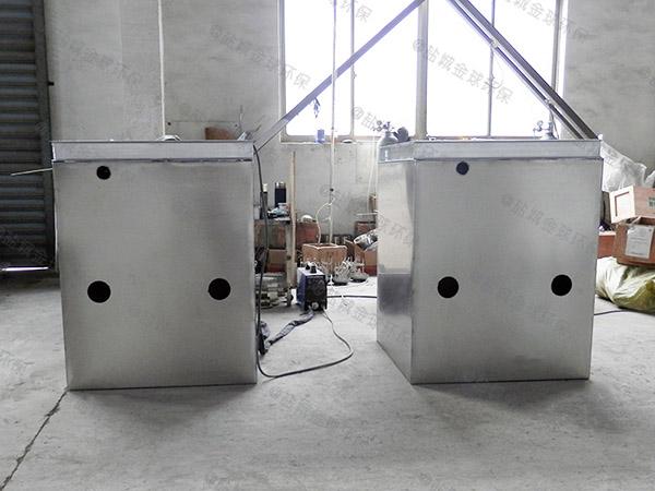火锅专用室内大自动刮油排水隔油设备怎么处理