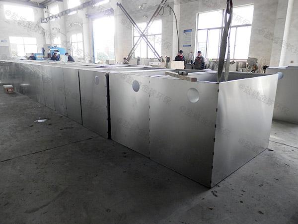 工厂食堂大型室外自动刮油水油分离的选型