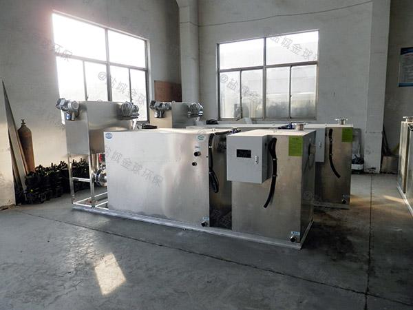 厨用埋地式大型多功能成品隔油池工艺流程