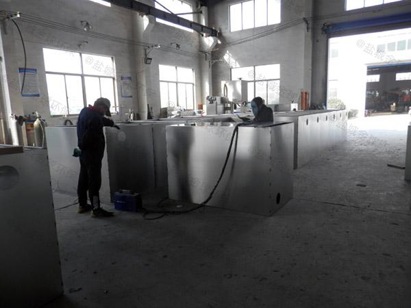 餐饮环保大型地下室自动化油水分离及过滤装置哪里好