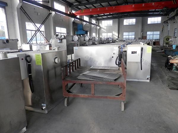 厨余大型地面式移动式成品不锈钢隔油池改造公司