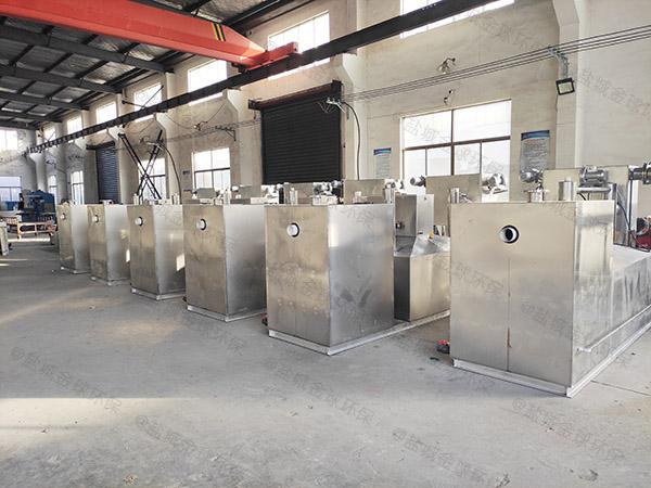 居家用大地面自动排水隔油池提升设备有什么作用