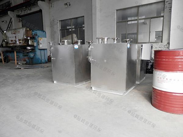 饮食业地下半自动污水隔油提升设备专利