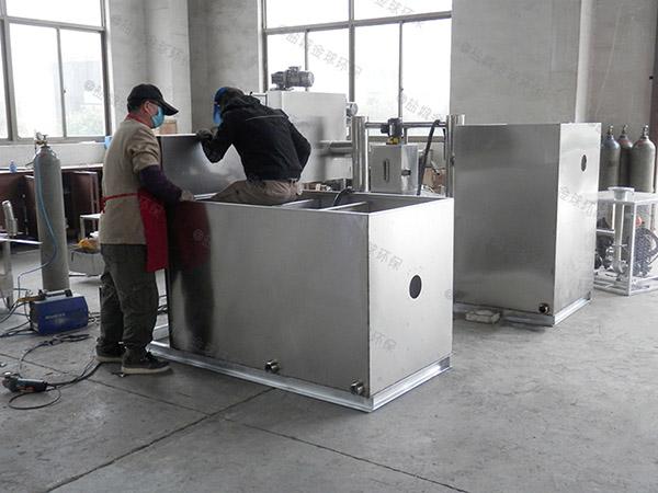餐饮专用500人隔渣隔油提升一体机企业