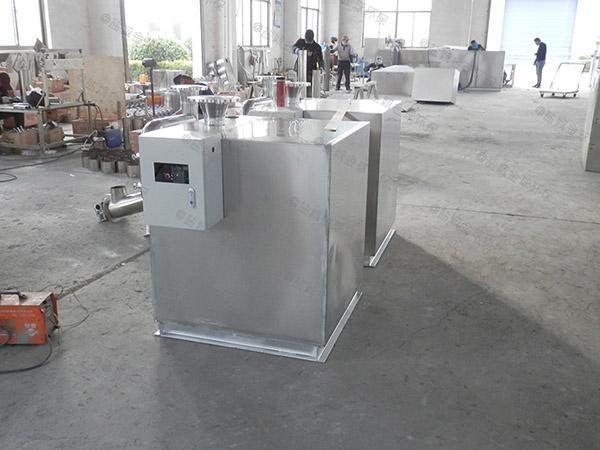 饭堂大型不锈钢隔油除渣器使用要求