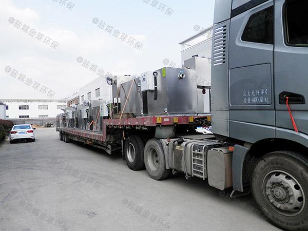 餐饮业8吨的长宽高隔渣隔油池设备使用要求
