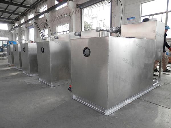 餐饮行业甲型用砖做隔油过滤设备生产厂商