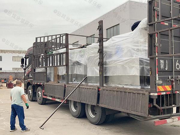 饭堂100人砖砌隔油成套设备检验