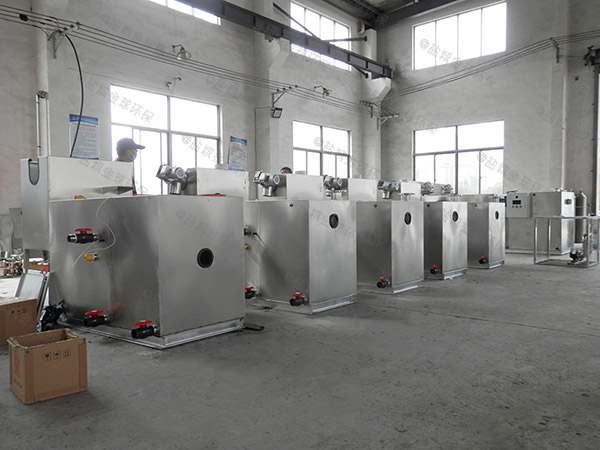 单位食堂500人混凝土隔油池提升设备设计计算