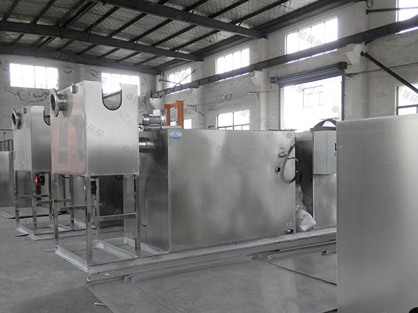 厨房用甲型隔渣隔油提升一体化设计计算