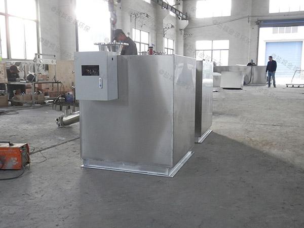 单位食堂甲型用砖做隔油一体化设备调试方案