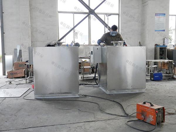 厨房用500人用砖做隔油提升一体化施工方案