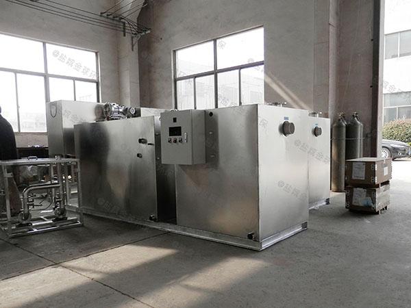 厨下型小型砖砌隔油成套设备市场