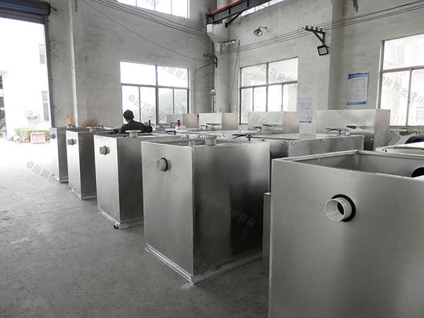 饭堂500人隔悬浮物隔油污水提升装置批发价