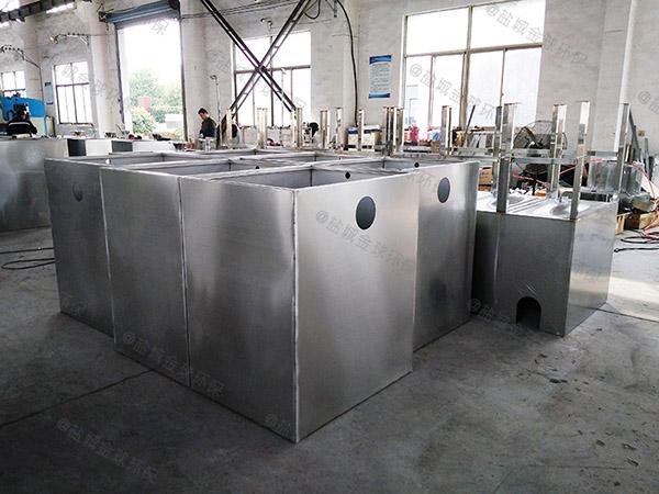 餐饮环保大型混凝土隔油一体化提升装置使用