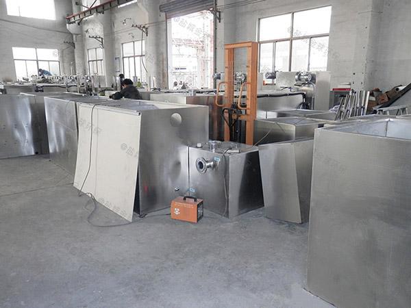 工地食堂中小型混凝土隔油池设备施工方案