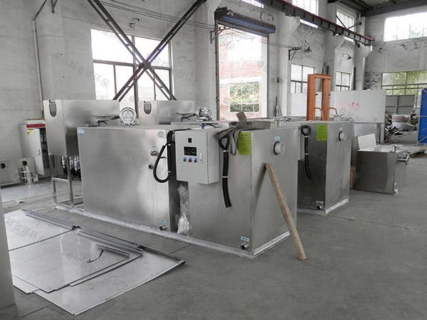 厨用30立方混凝土隔油隔渣设备施工方案