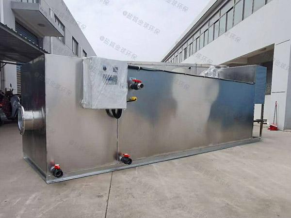 餐饮类100人隔悬浮物隔油全自动提升设备内部结构