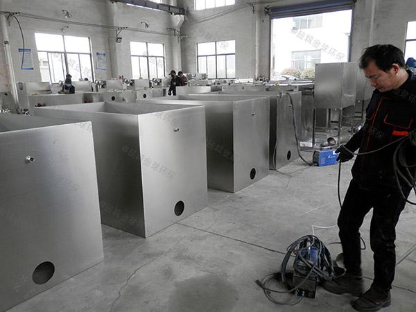 餐饮商户30立方隔油隔渣隔悬浮物隔油提升设备一体化装置市场前景