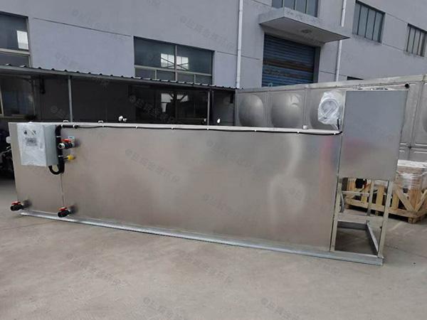 餐用3.1米*1.2米*1.85米隔悬浮物隔油池提升设备简介