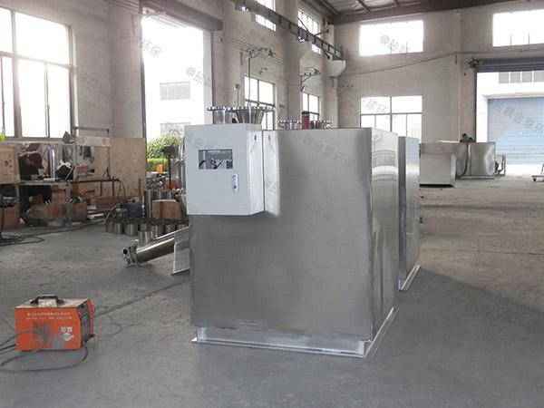 厨房用1000人砖砌隔油提升一体化装置图