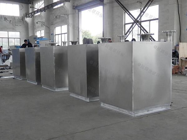 餐饮行业大型隔悬浮物隔油器提升设备适用行业