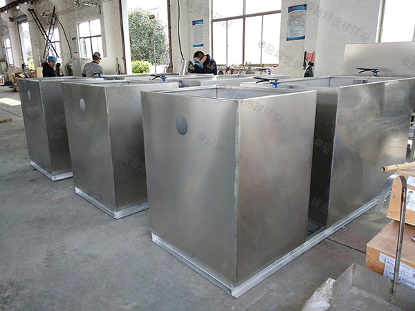 工地食堂2号不锈钢隔油隔渣设备检测报告