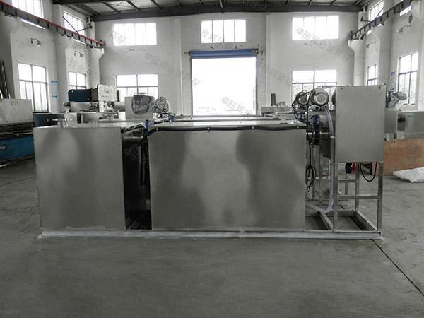 餐饮类2.8米*1.2米*1.75米隔悬浮物隔油强排设备求购