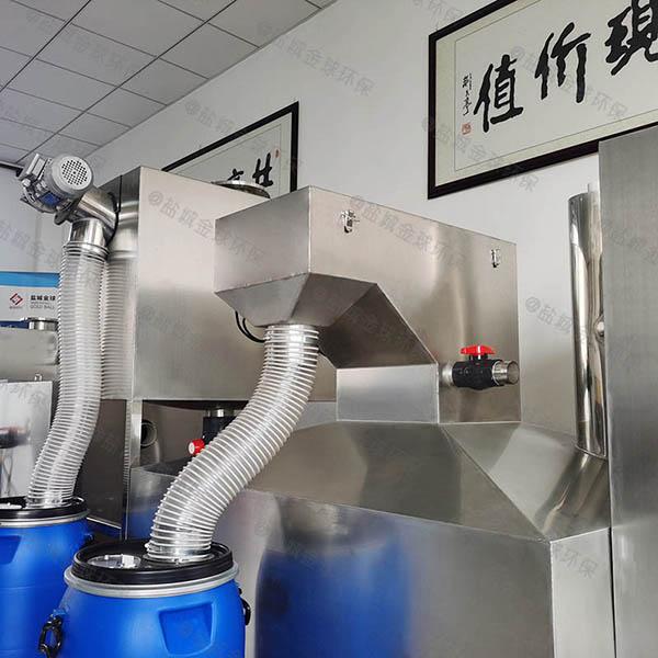 奶茶店小型斜板三相油水分离器合同