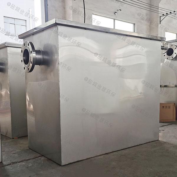 餐饮厨房小隔悬浮物气浮式自动隔油器施工工艺