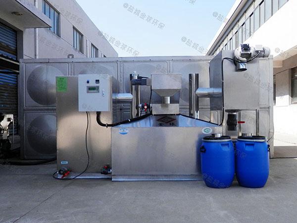 餐饮厨房水池地埋式隔悬浮物三级油水分离器行业标准