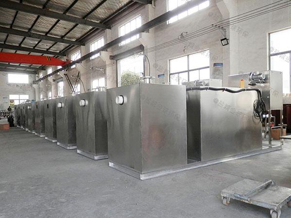餐饮厨房大隔悬浮物三相油水分离设备生产商