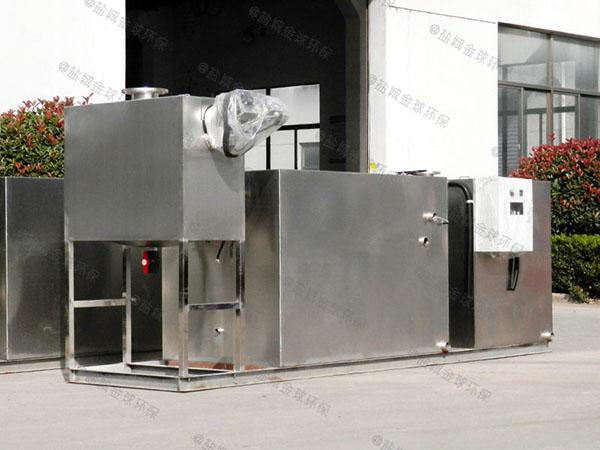 餐馆小隔油隔渣隔悬浮物气浮式油水分离器批发价
