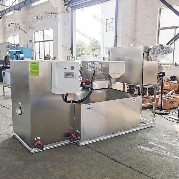 奶茶店小分体式三级油水分离器设计标准