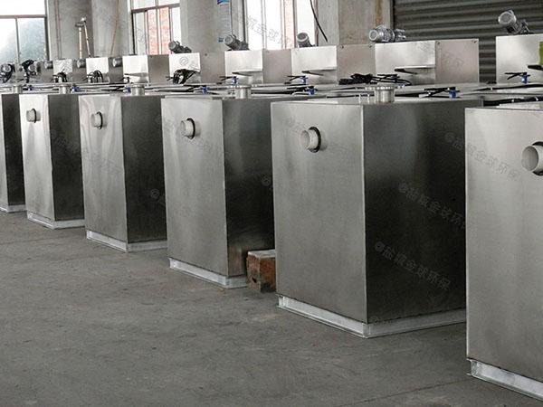 餐饮厨房大无动力气浮式油水分离器检测报告