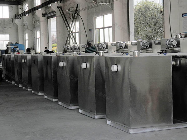 加油站小型压缩空气三段式隔油池技术要求
