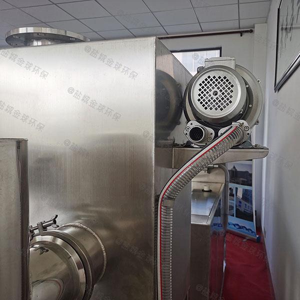 餐饮厨房小型斜板三级油水分离器合格证