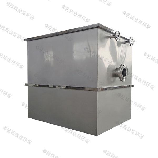 餐厅厨房地埋式隔油隔渣隔悬浮物三格隔油池行业市场