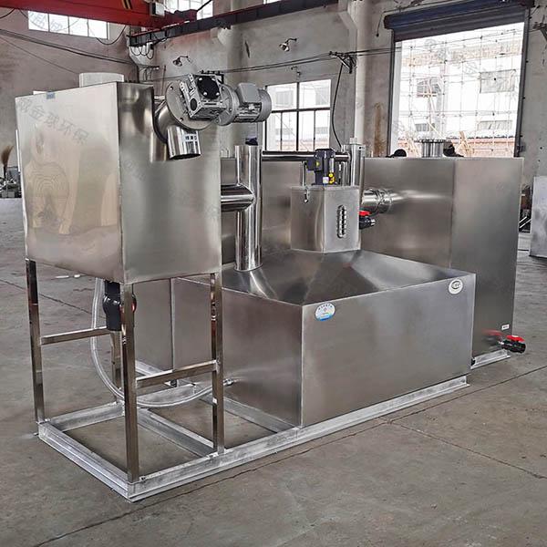 餐饮厨房密闭式电加热三相油水分离器行业