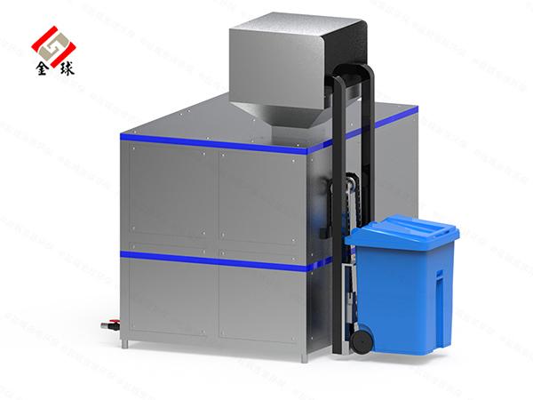 大中型厨余垃圾油水分离设备的好处