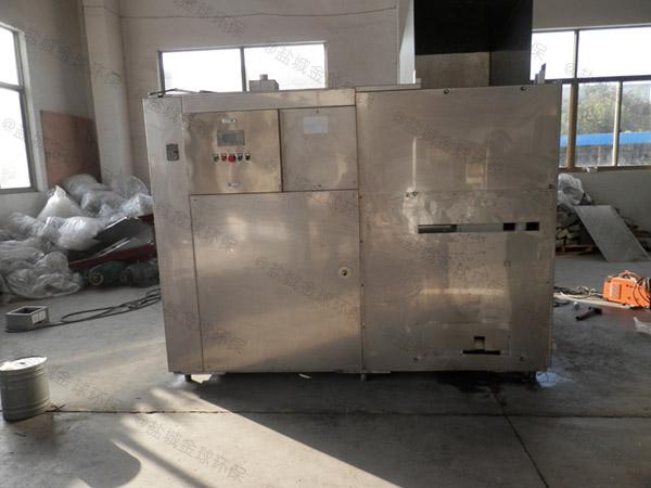 5吨智能化餐厨垃圾预处理设备设计