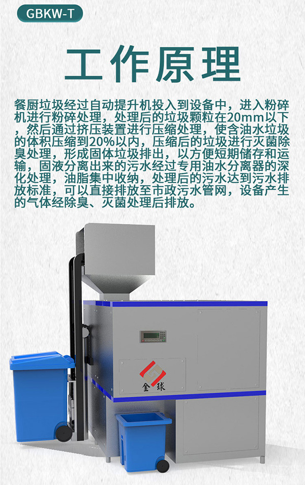 日处理5吨多功能餐饮垃圾处理一体机服务商